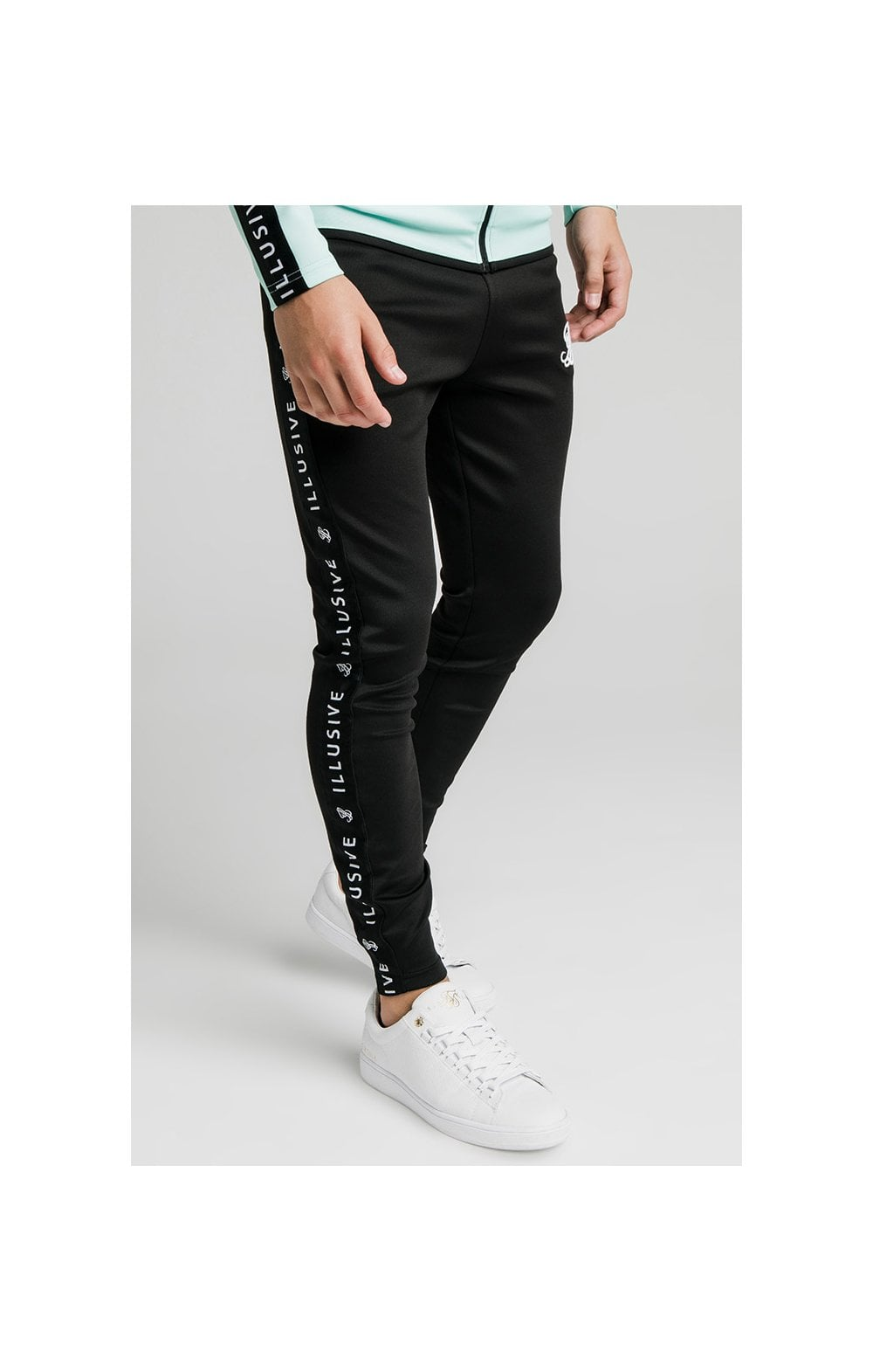 Load image into Gallery viewer, Illusive London Tape Pants - Black (4)