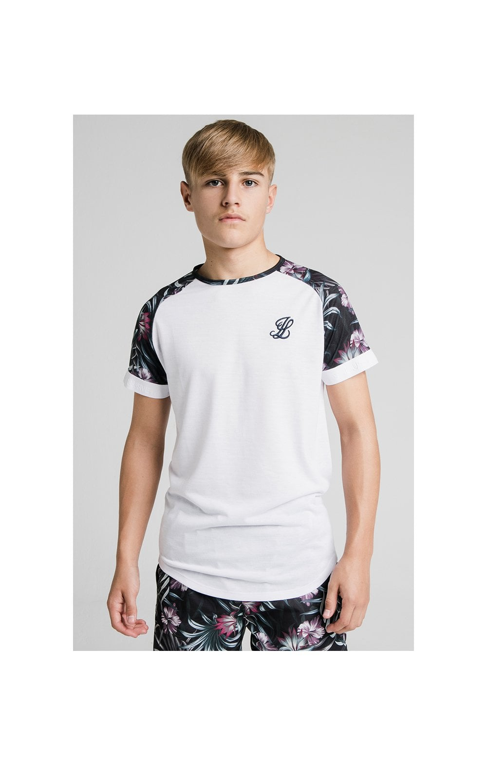 Load image into Gallery viewer, Illusive London Tropical Tee - White