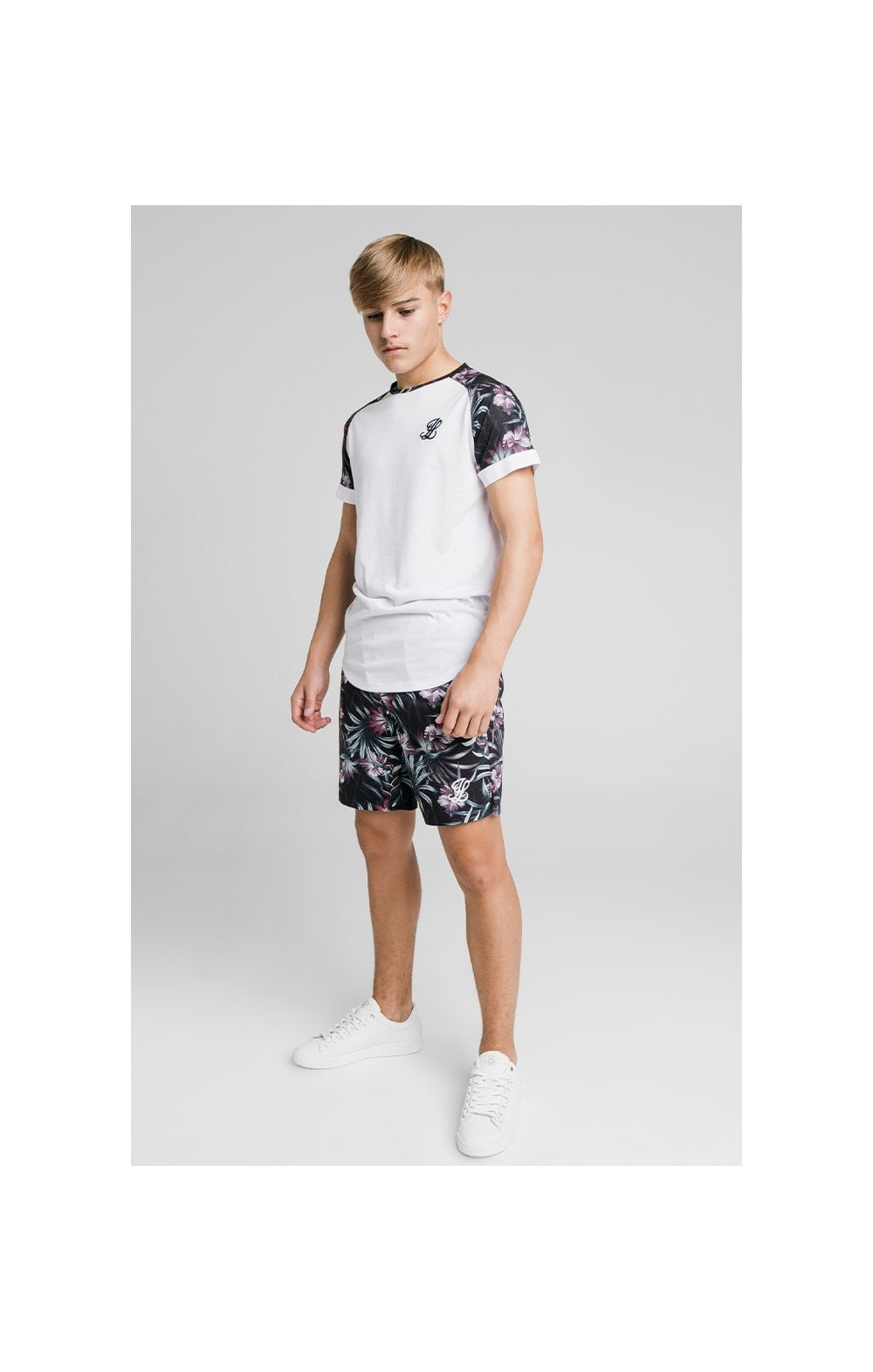 Load image into Gallery viewer, Illusive London Tropical Tee - White (3)