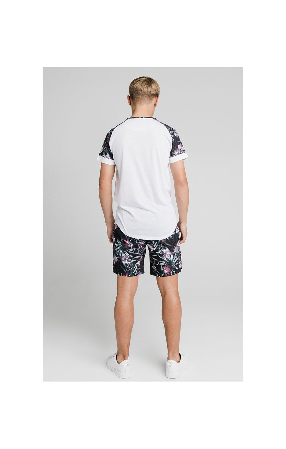 Load image into Gallery viewer, Illusive London Tropical Tee - White (5)
