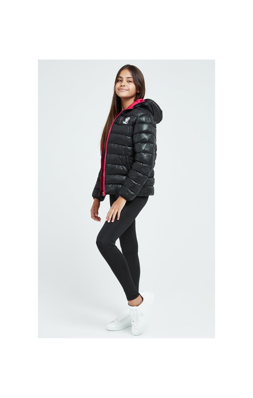 Illusive London Bubble Jacket - Black (3)