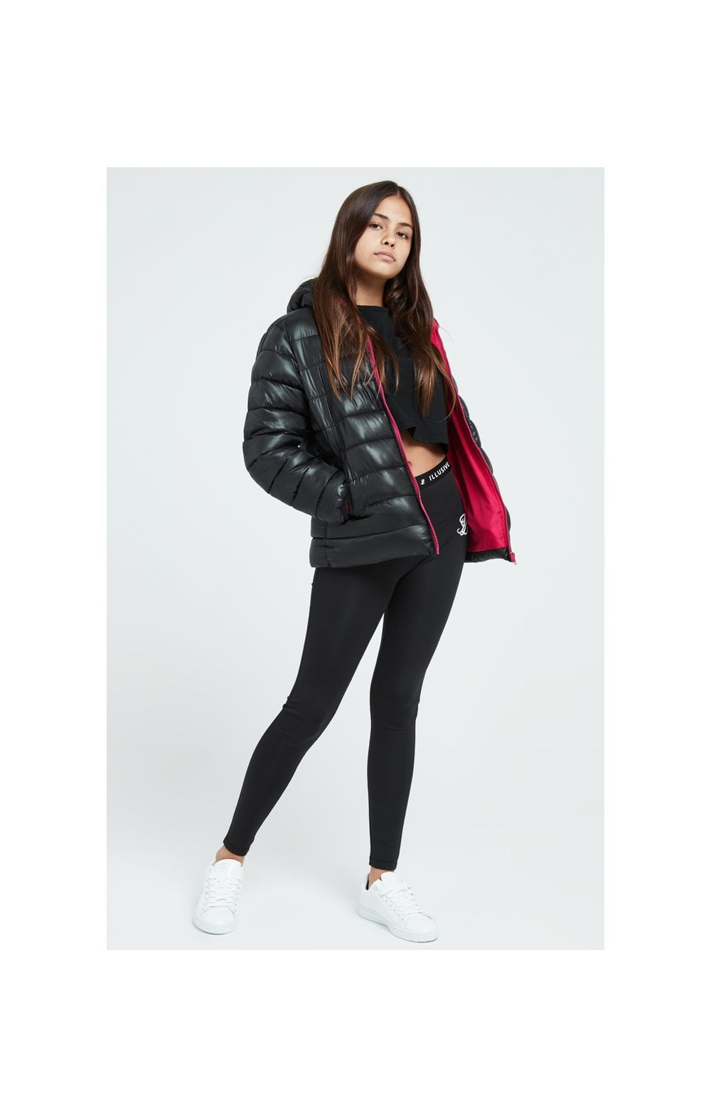 Illusive London Bubble Jacket - Black (4)