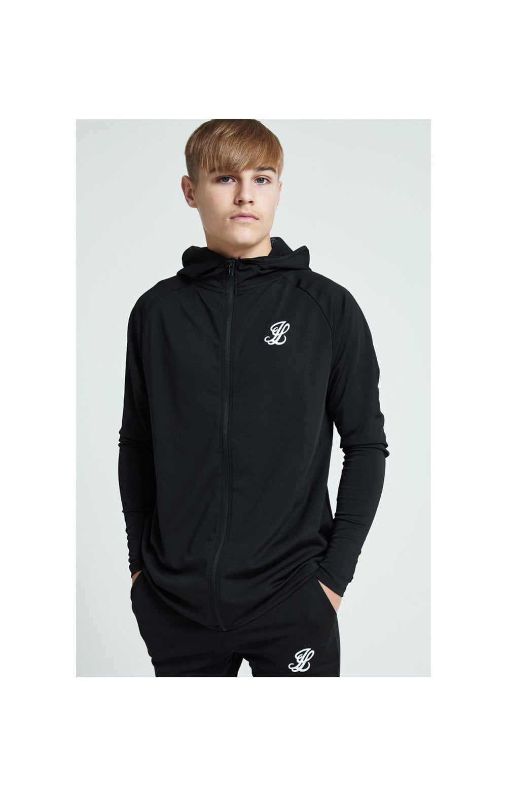 Illusive London Core Athlete Hoodie - Black