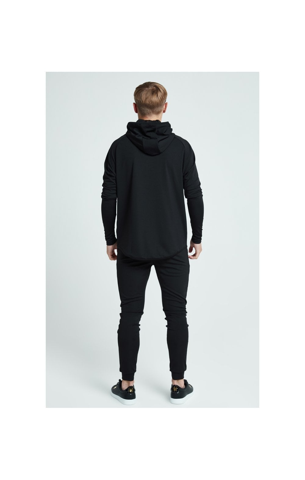 Load image into Gallery viewer, Illusive London Core Athlete Hoodie - Black (4)