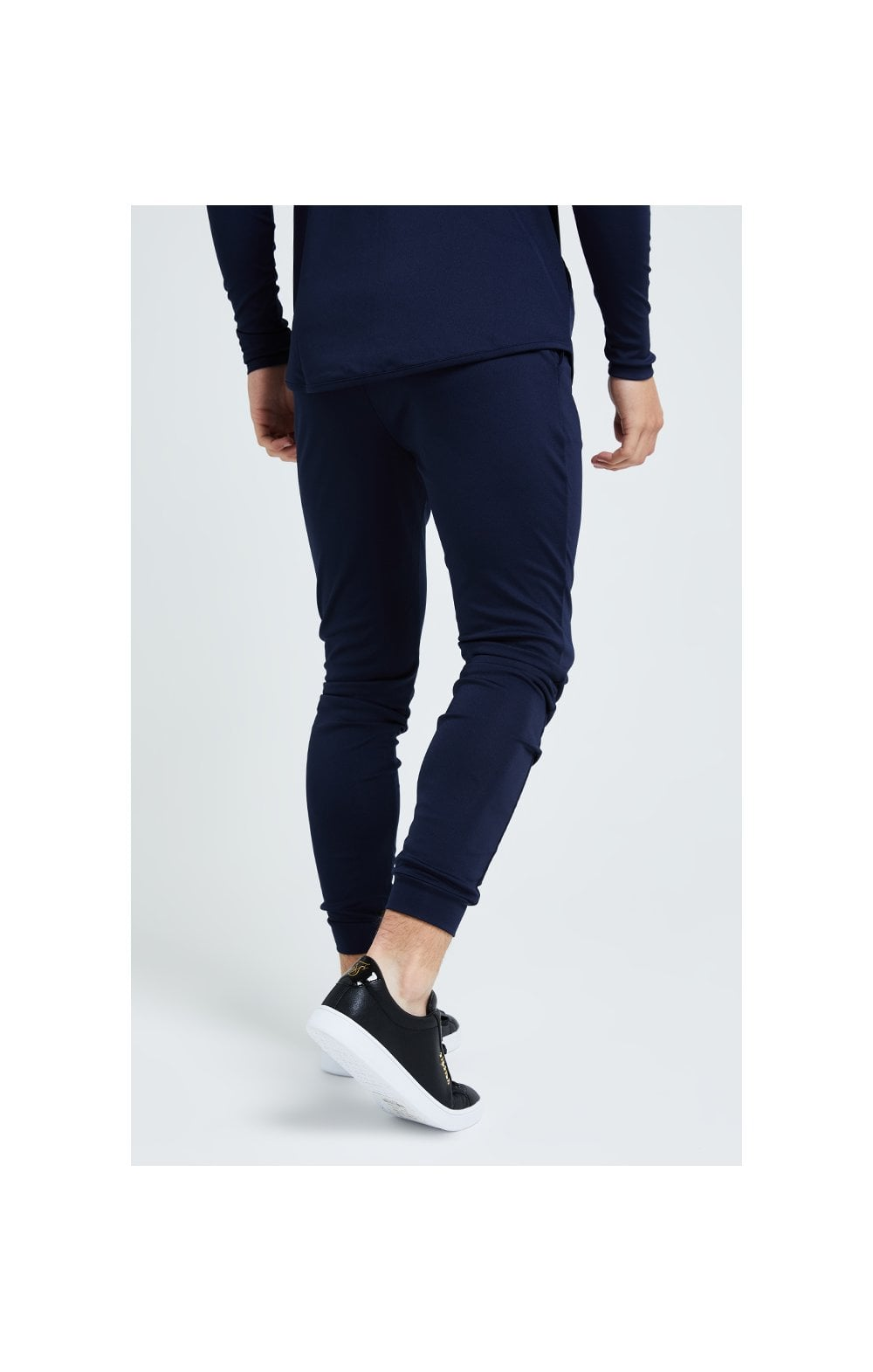 Illusive London Core Fitted Joggers - Navy (3)