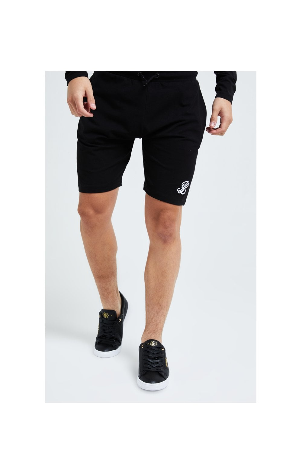 Load image into Gallery viewer, Illusive London Core Jersey Shorts - Black