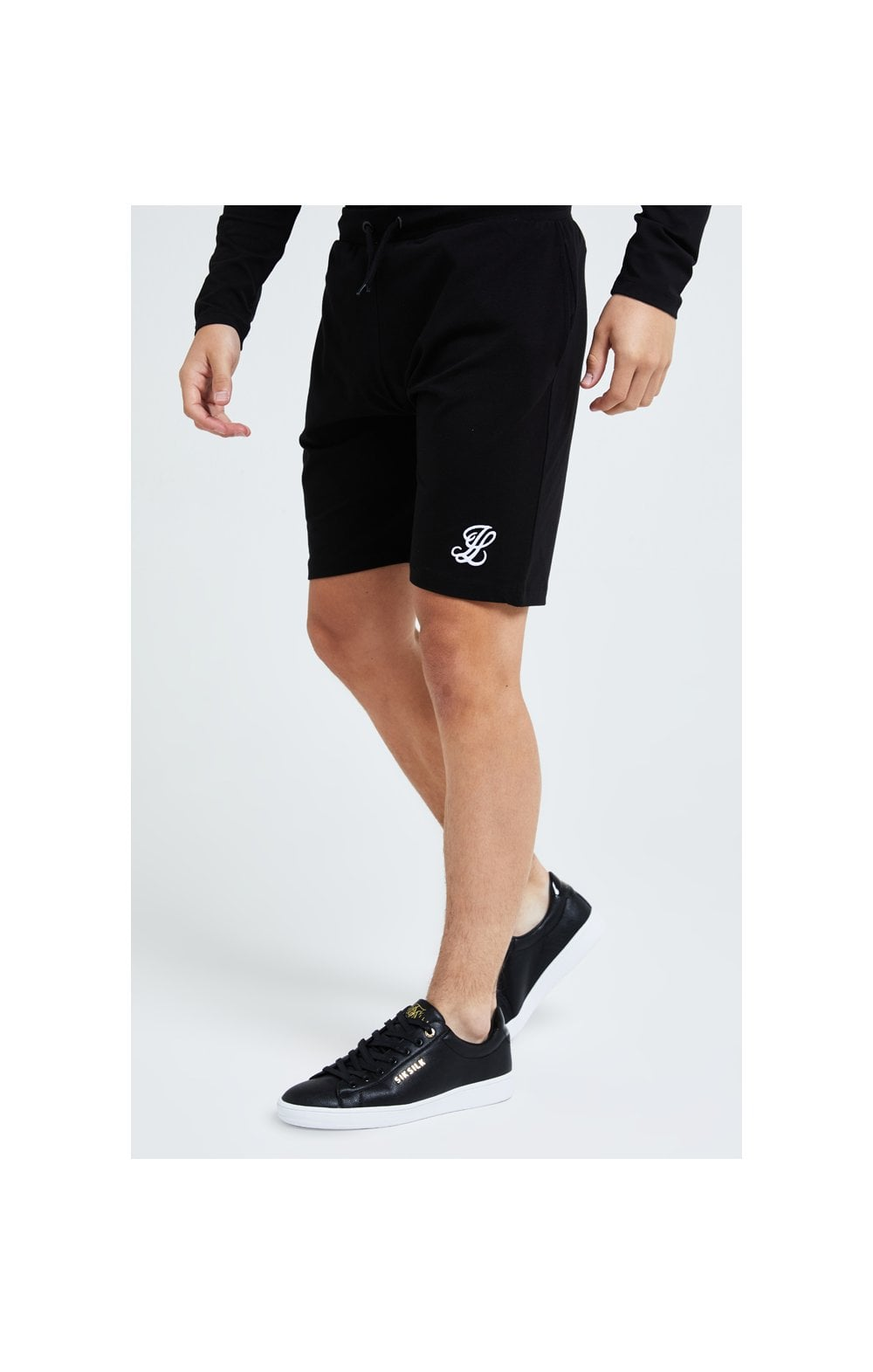 Load image into Gallery viewer, Illusive London Core Jersey Shorts - Black (1)