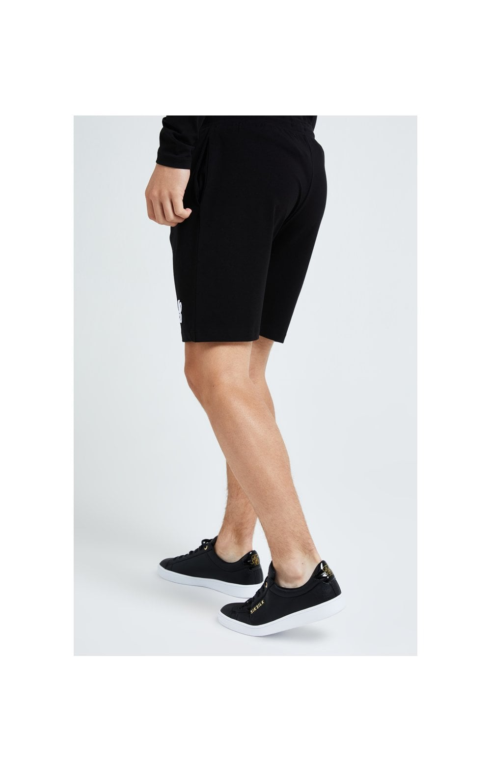 Load image into Gallery viewer, Illusive London Core Jersey Shorts - Black (2)