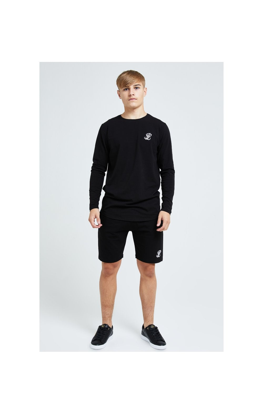 Load image into Gallery viewer, Illusive London Core Jersey Shorts - Black (5)