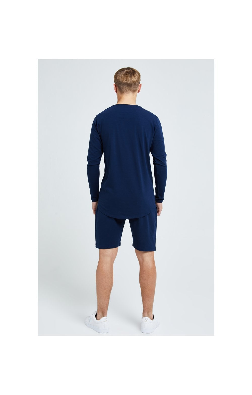 Load image into Gallery viewer, Illusive London Core Jersey Shorts - Navy (6)