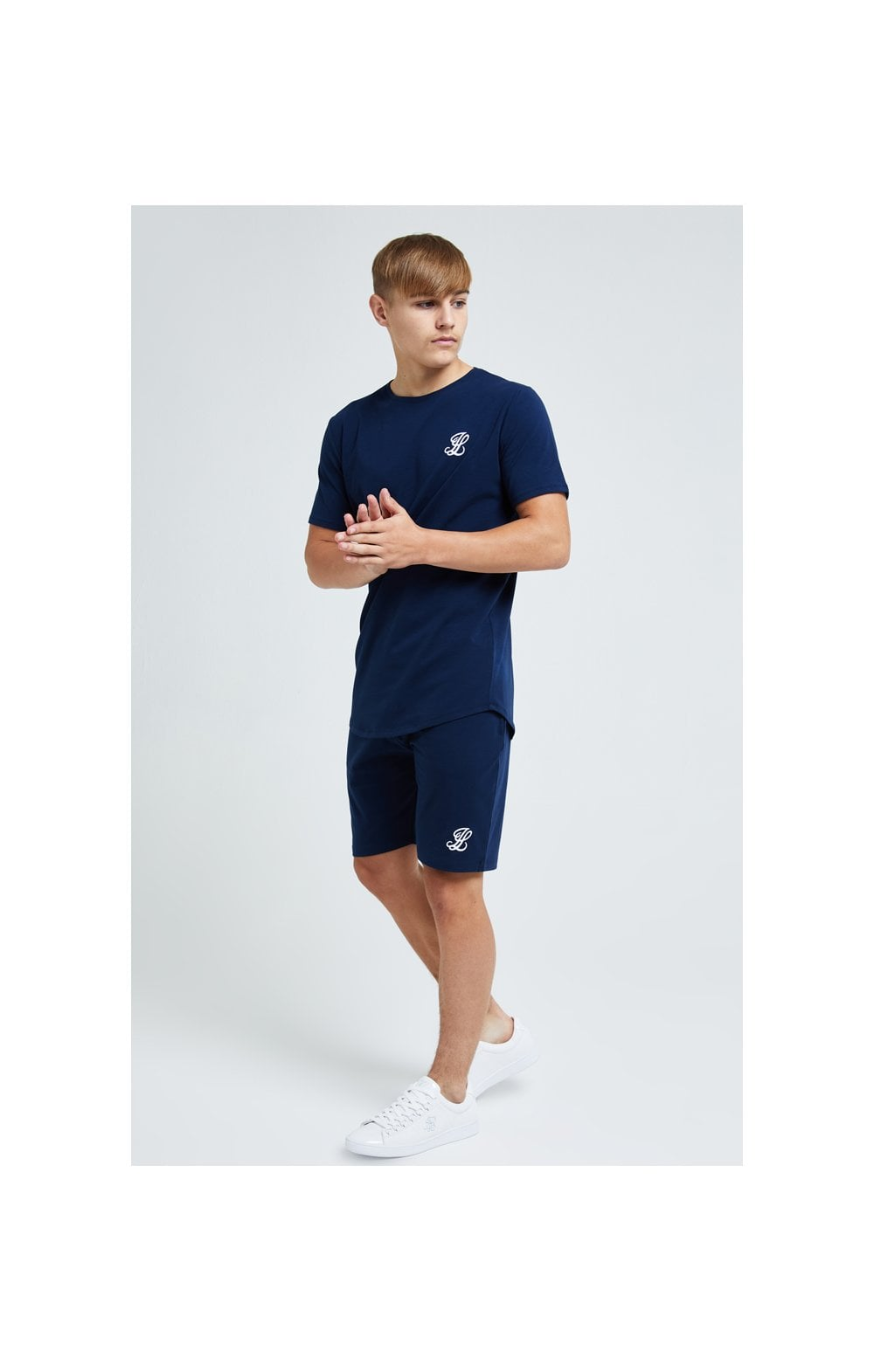Load image into Gallery viewer, Illusive London Core Tee - Navy (2)