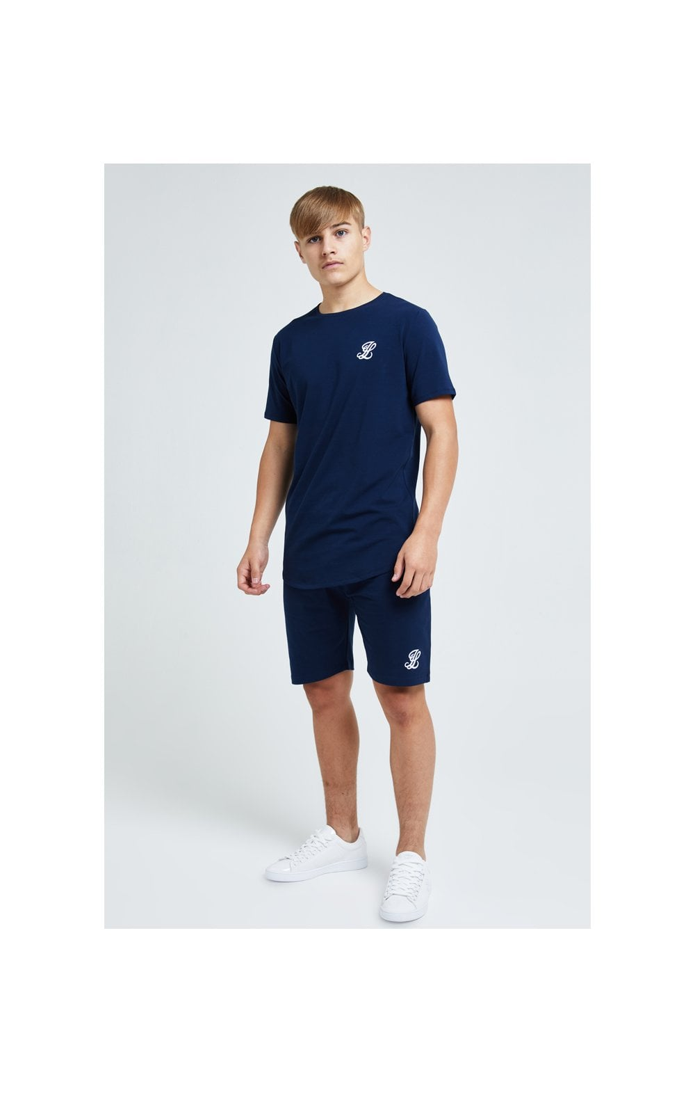 Load image into Gallery viewer, Illusive London Core Tee - Navy (3)