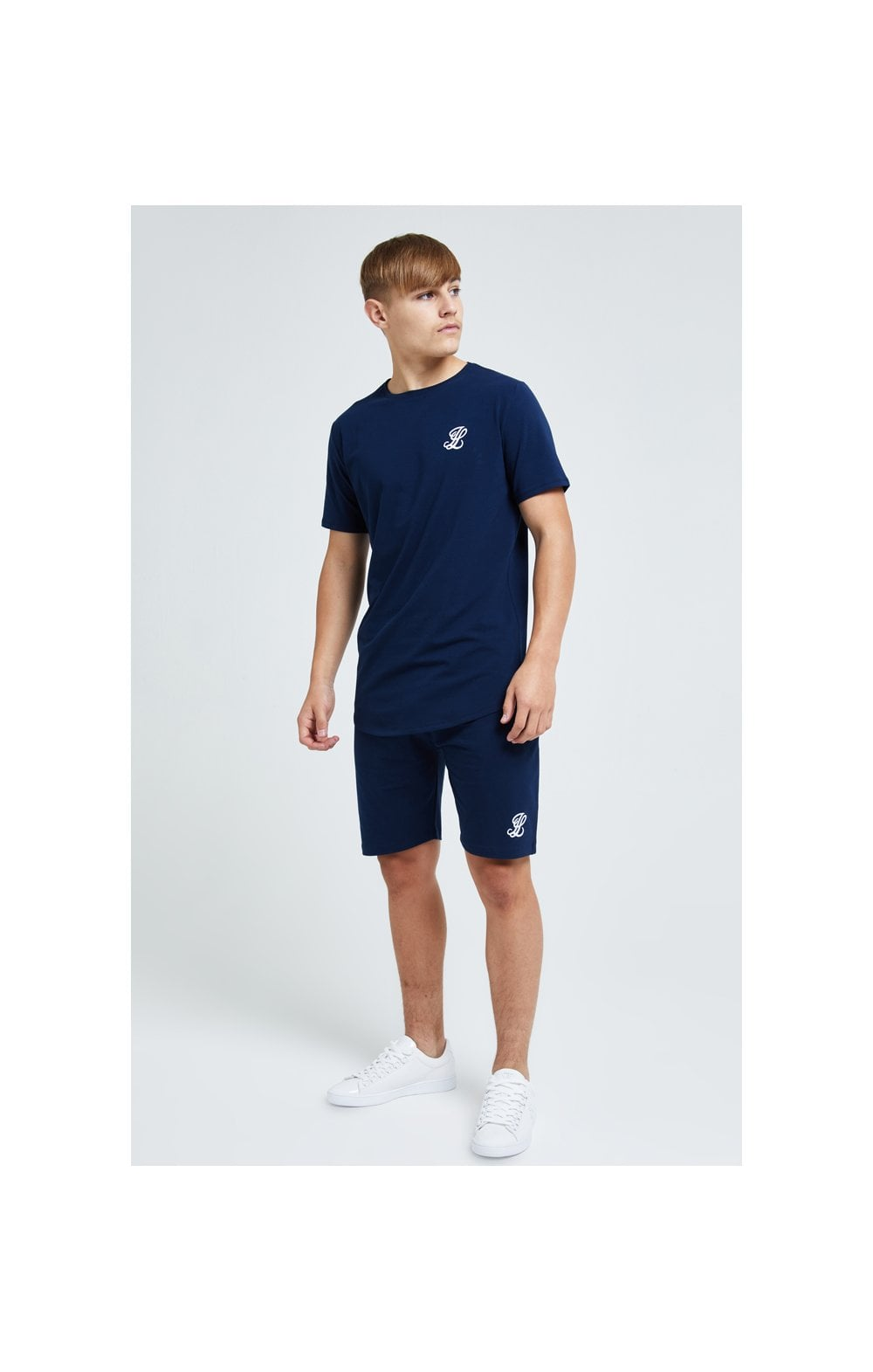 Load image into Gallery viewer, Illusive London Core Tee - Navy (4)