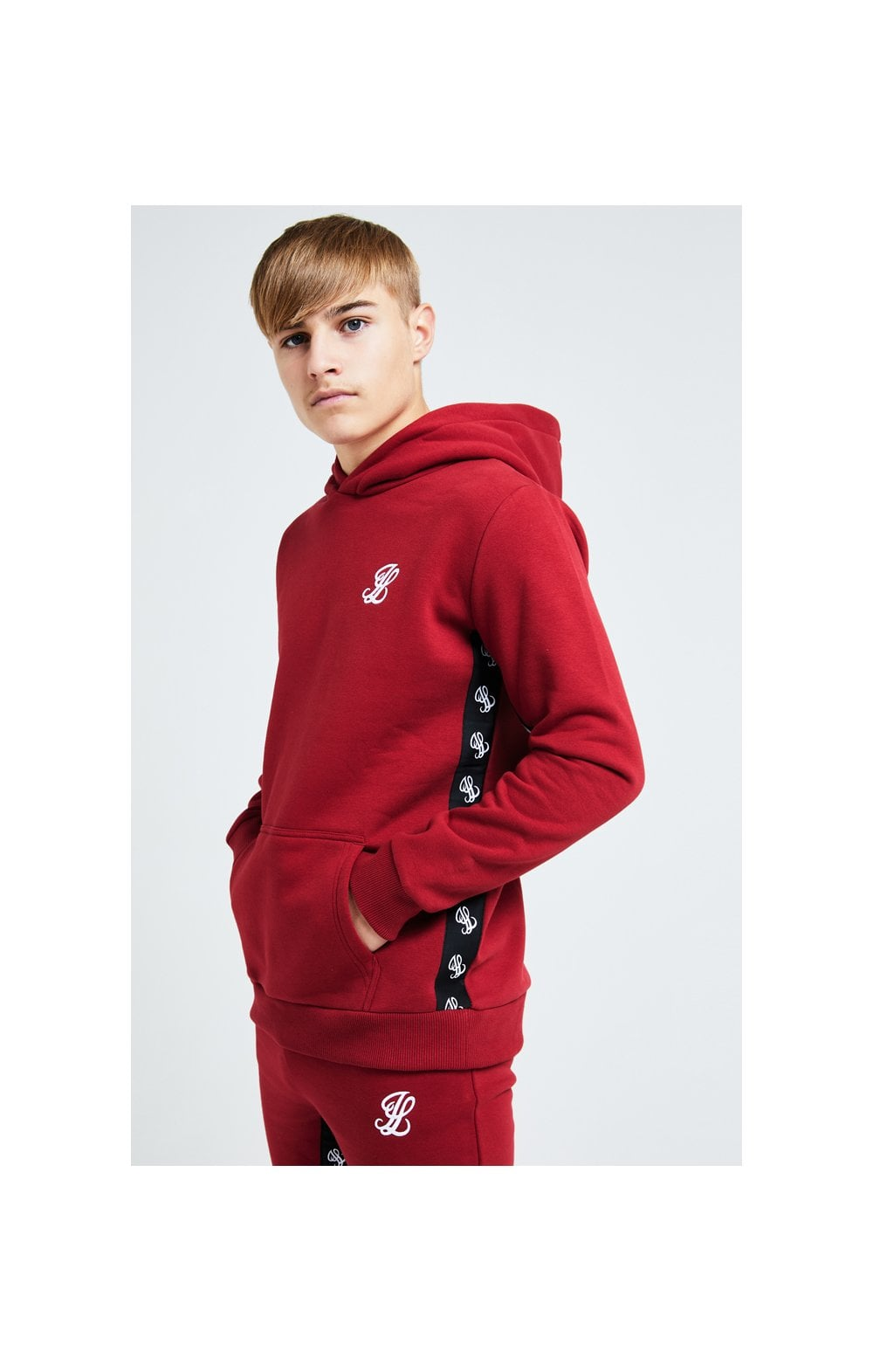 Illusive London Gravity Overhead Hoodie - Red