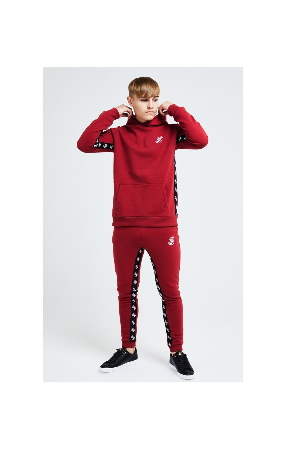 Load image into Gallery viewer, Illusive London Gravity Overhead Hoodie - Red (2)