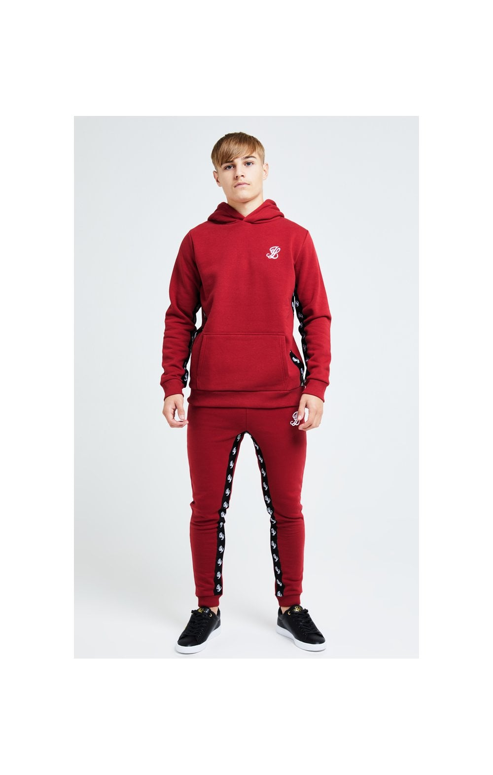 Load image into Gallery viewer, Illusive London Gravity Overhead Hoodie - Red (4)