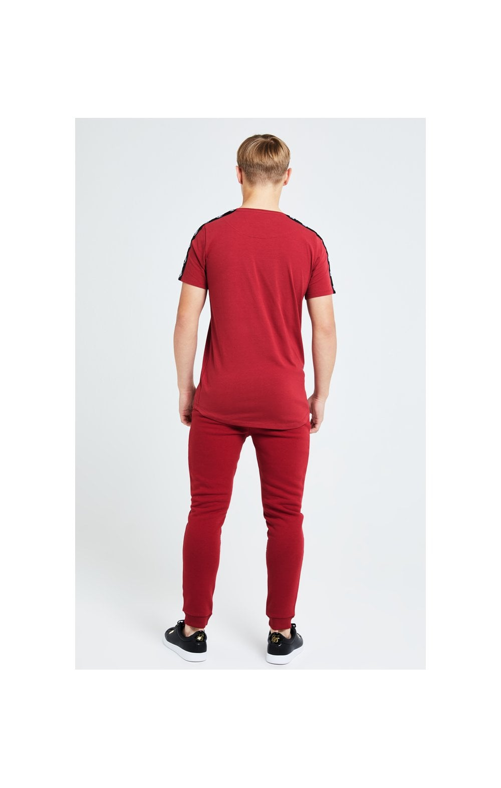 Illusive London Gravity Tape Tee - Red (6)