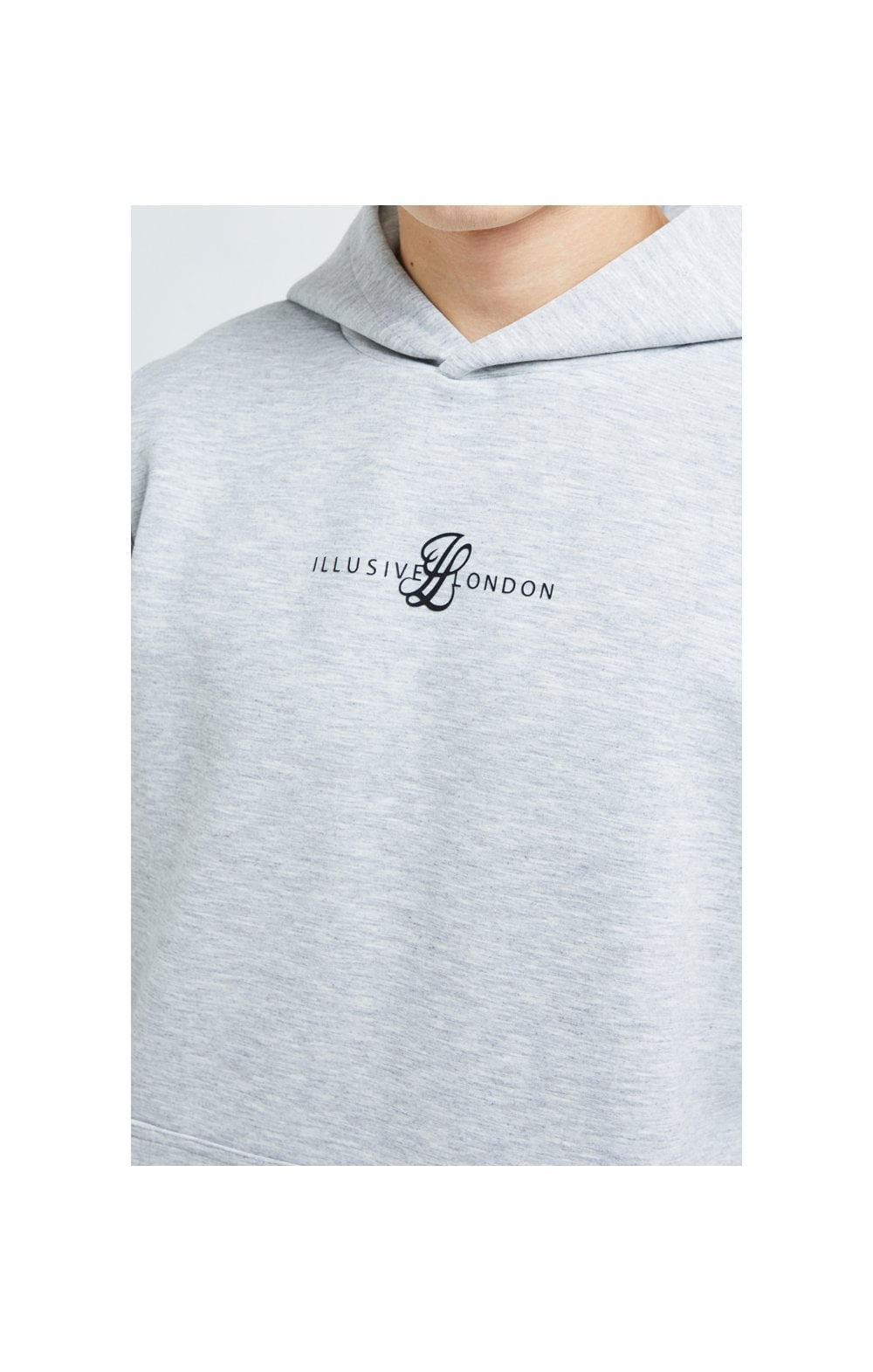 Illusive London Dual Overhead Hoodie - Grey (1)