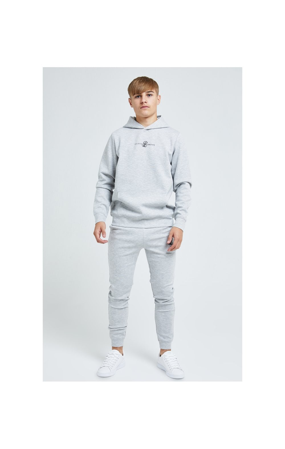 Illusive London Dual Overhead Hoodie - Grey (4)