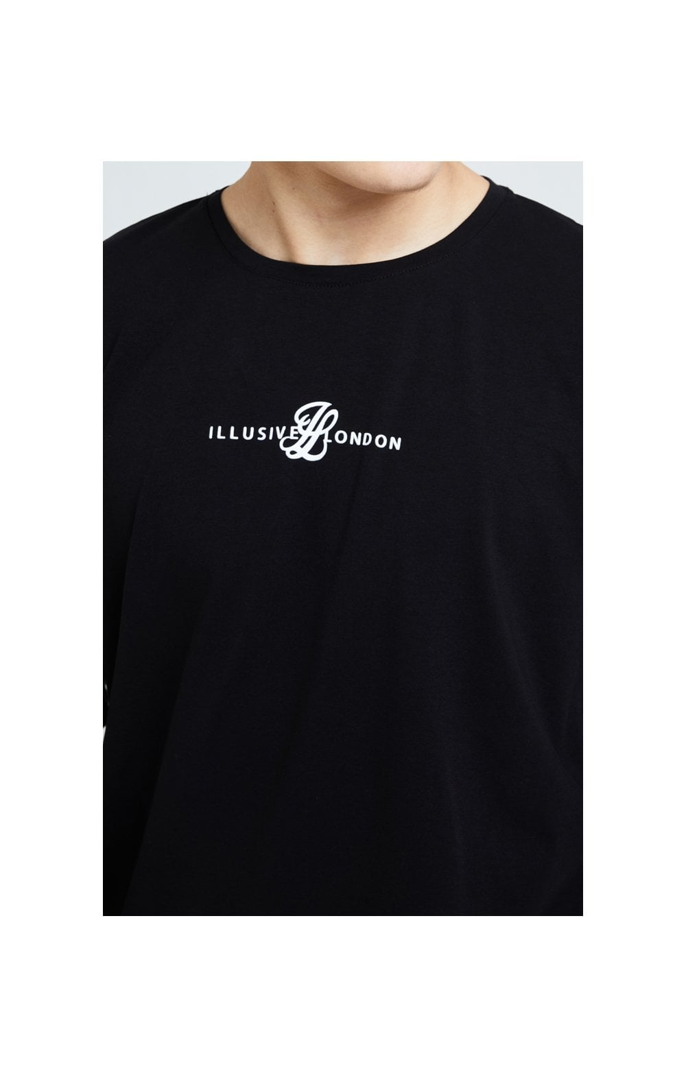 Illusive London Dual L/S Tee - Black (1)