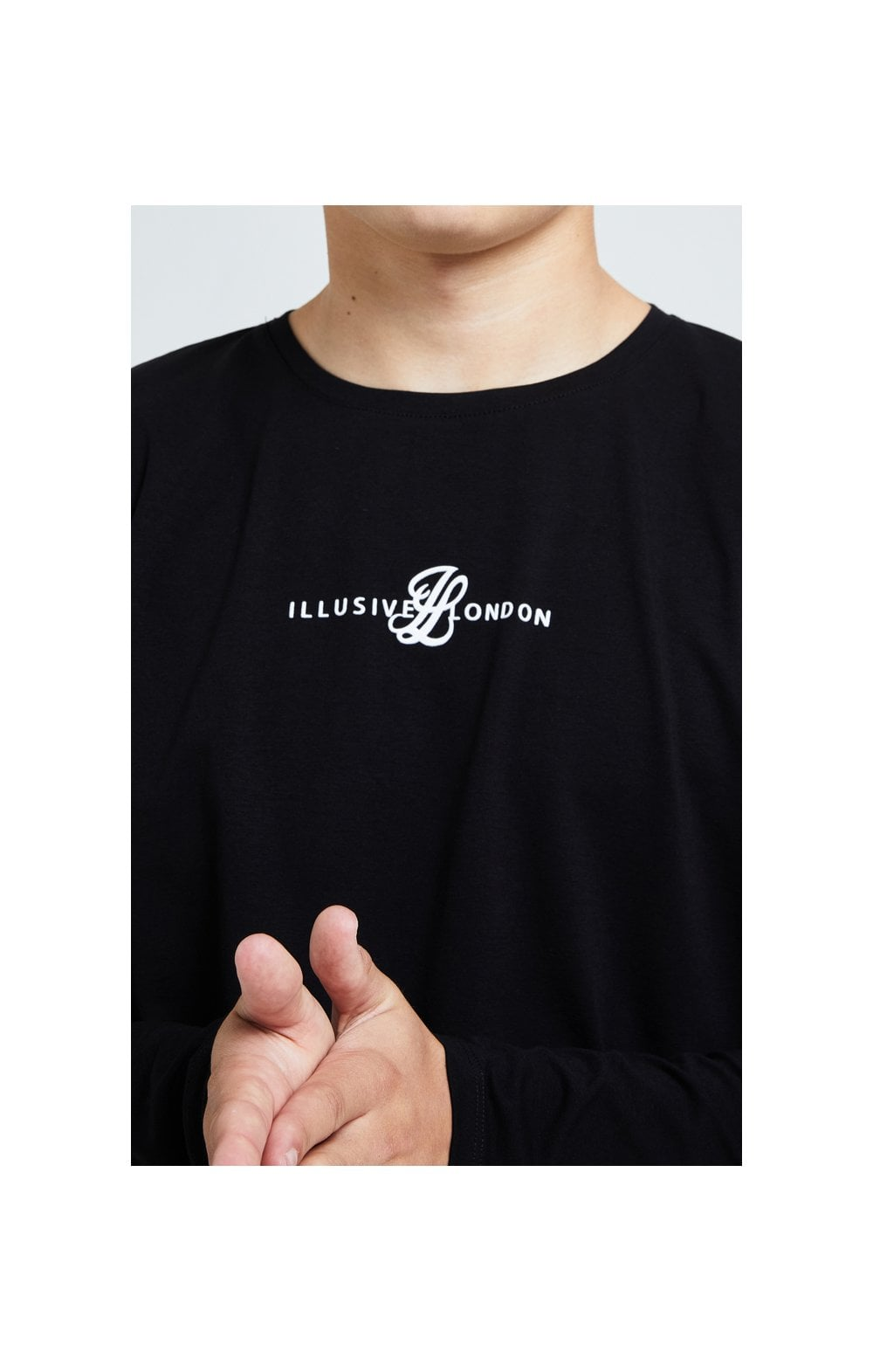 Illusive London Dual L/S Tee - Black (2)