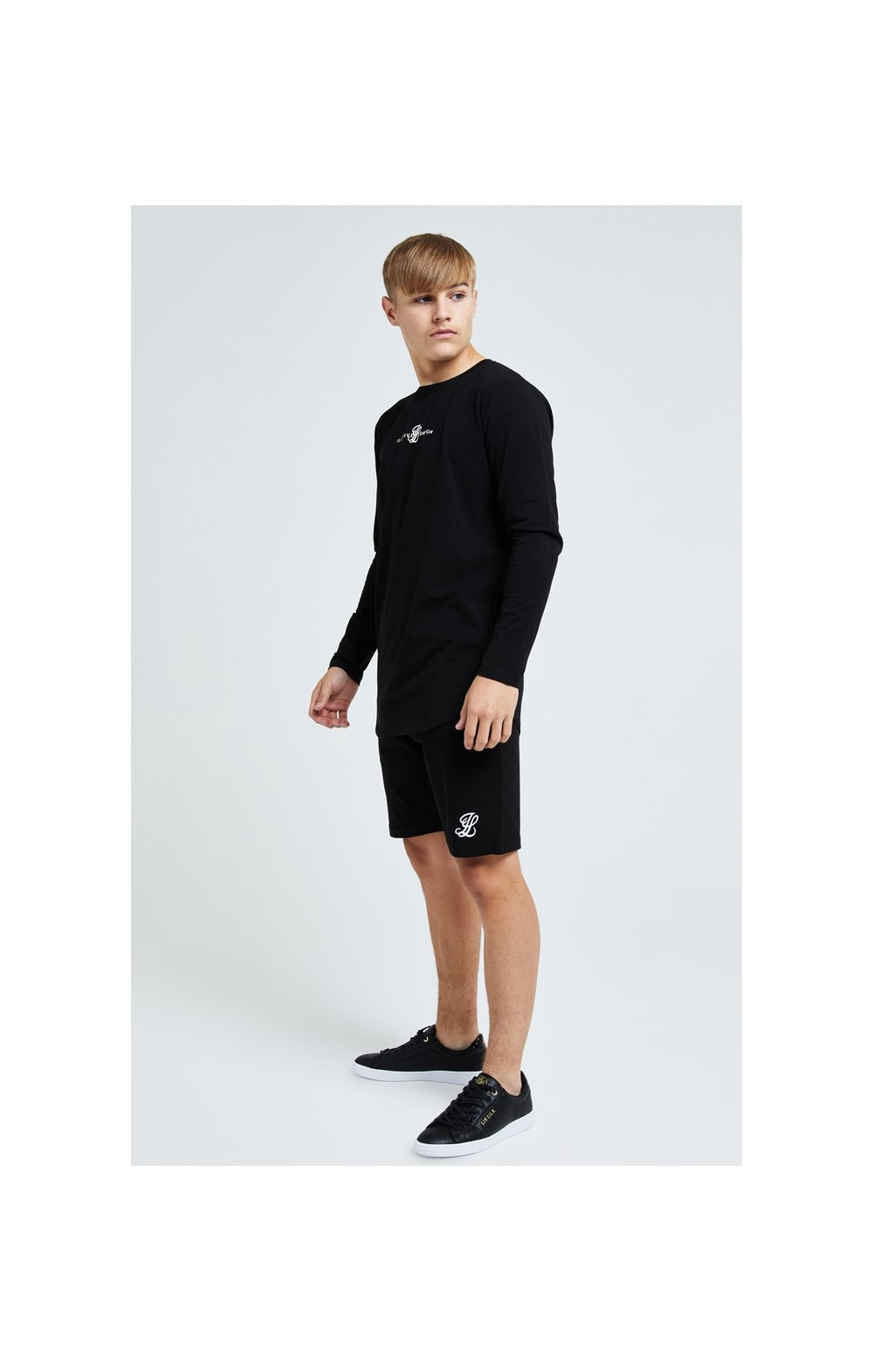 Illusive London Dual L/S Tee - Black (3)