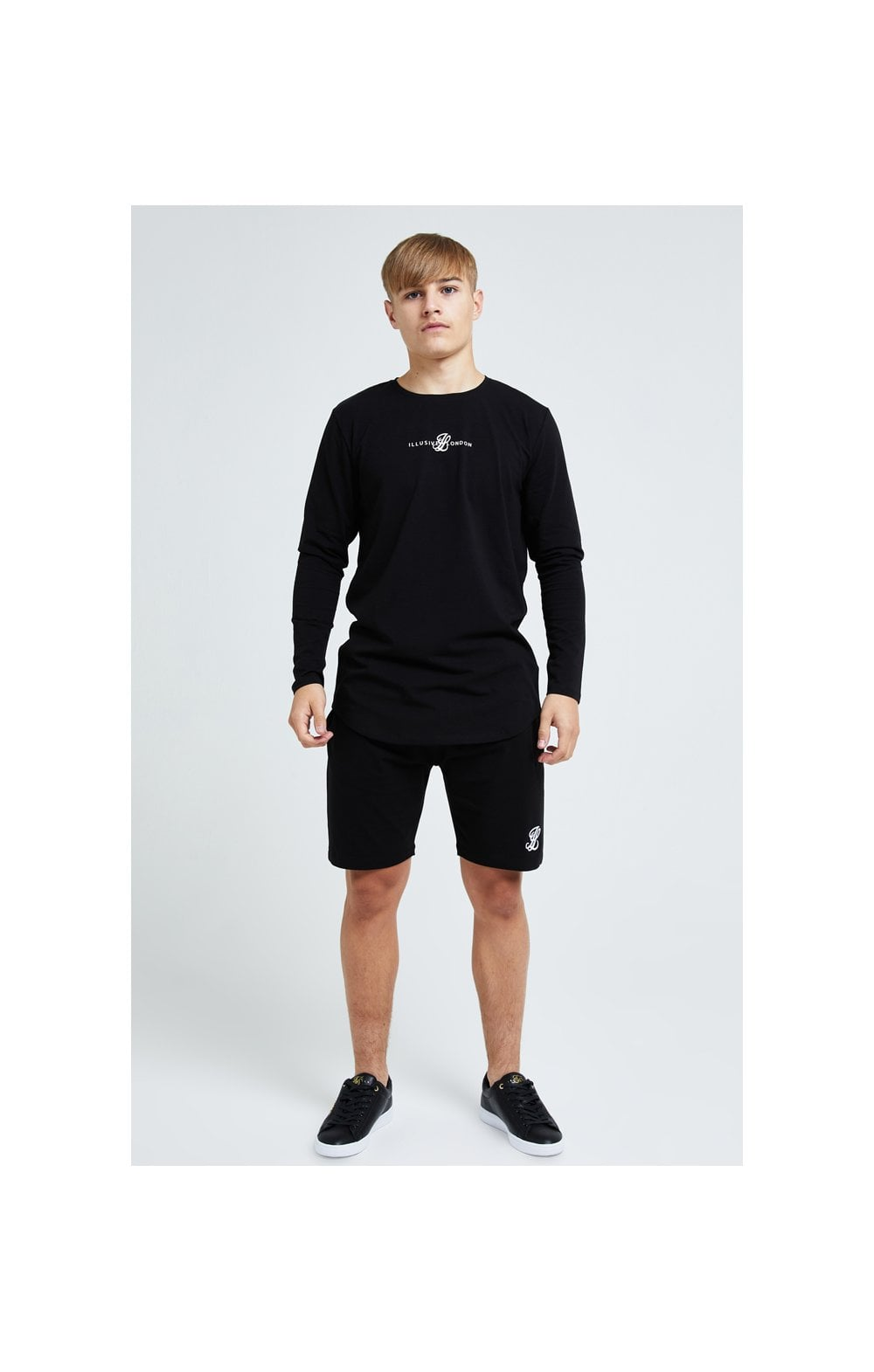 Illusive London Dual L/S Tee - Black (4)