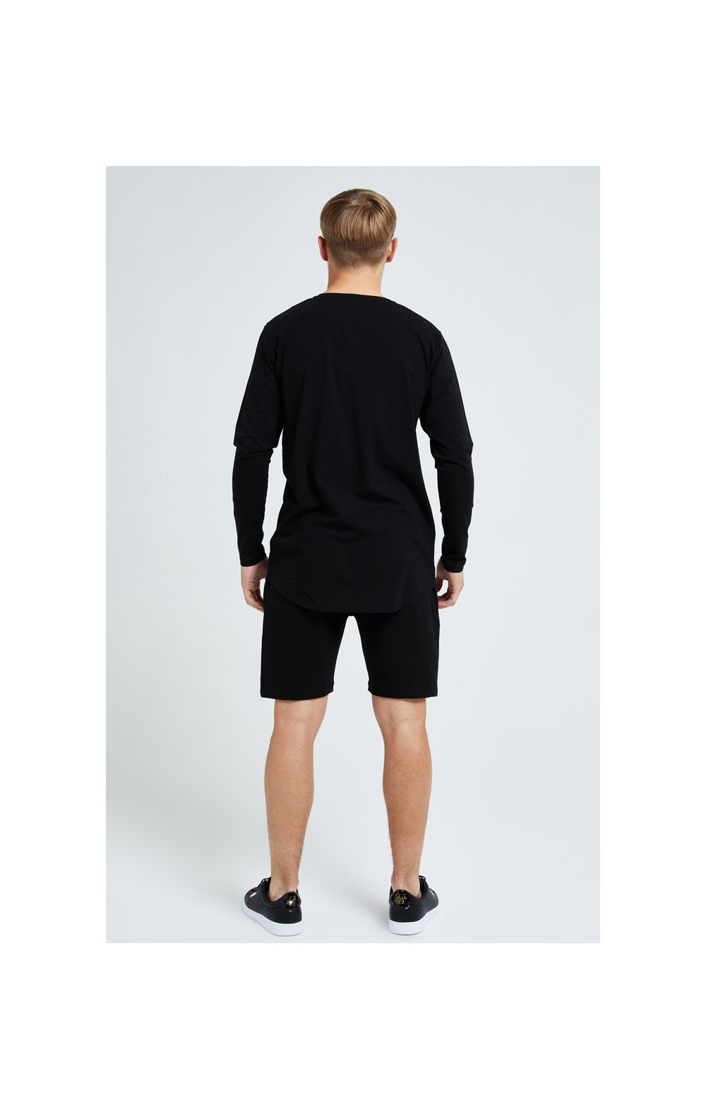 Illusive London Dual L/S Tee - Black (5)