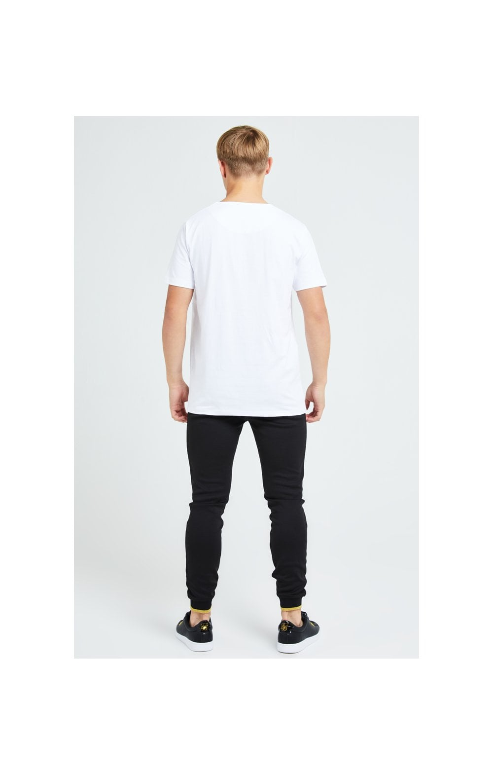 Load image into Gallery viewer, Illusive London Sovereign Tee - White & Gold (5)