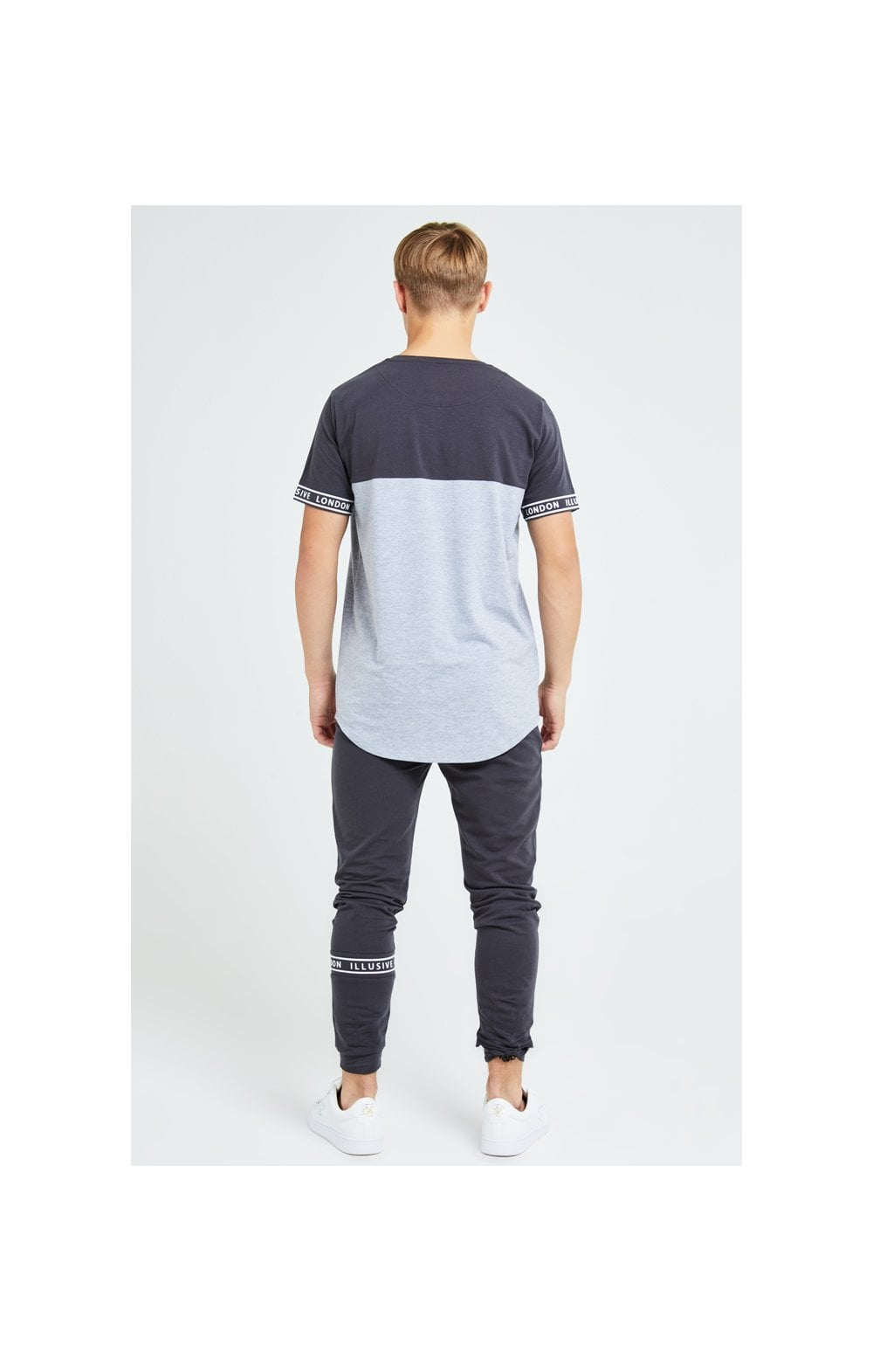 Load image into Gallery viewer, Illusive London Revere Jogger - Dark Grey & Light Grey Marl (5)