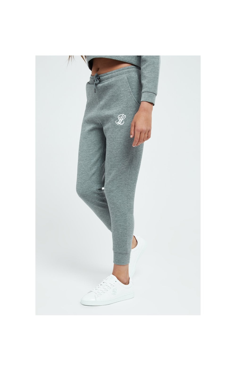 Illusive London Dual Track Pant - Grey Marl