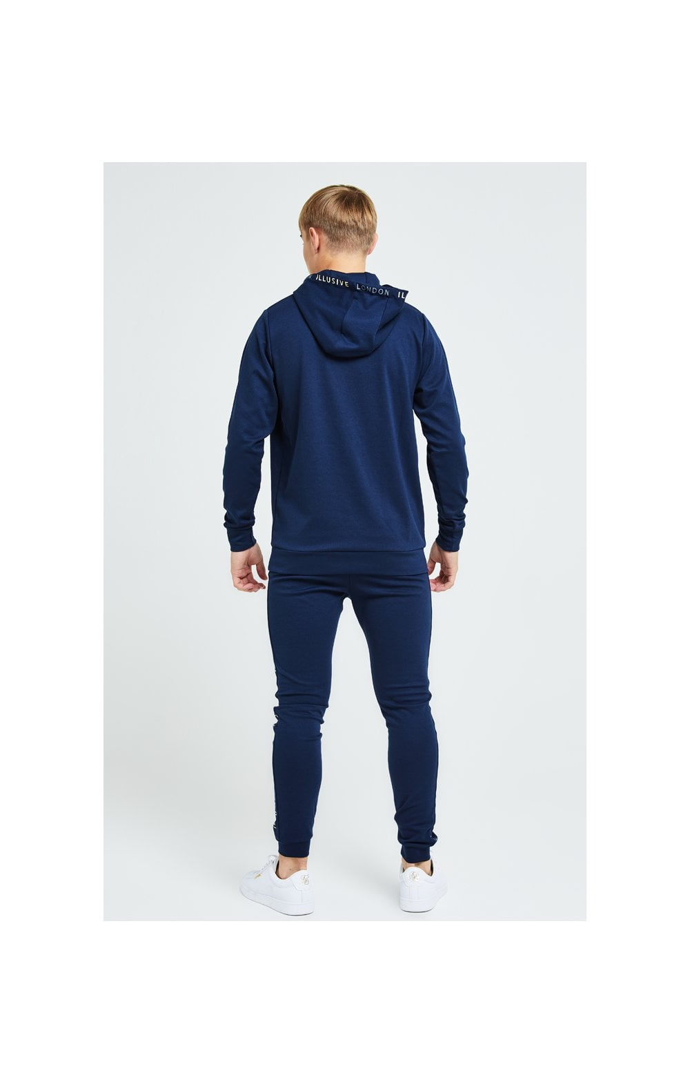 Illusive London Legacy Overhead Hoodie - Navy (4)