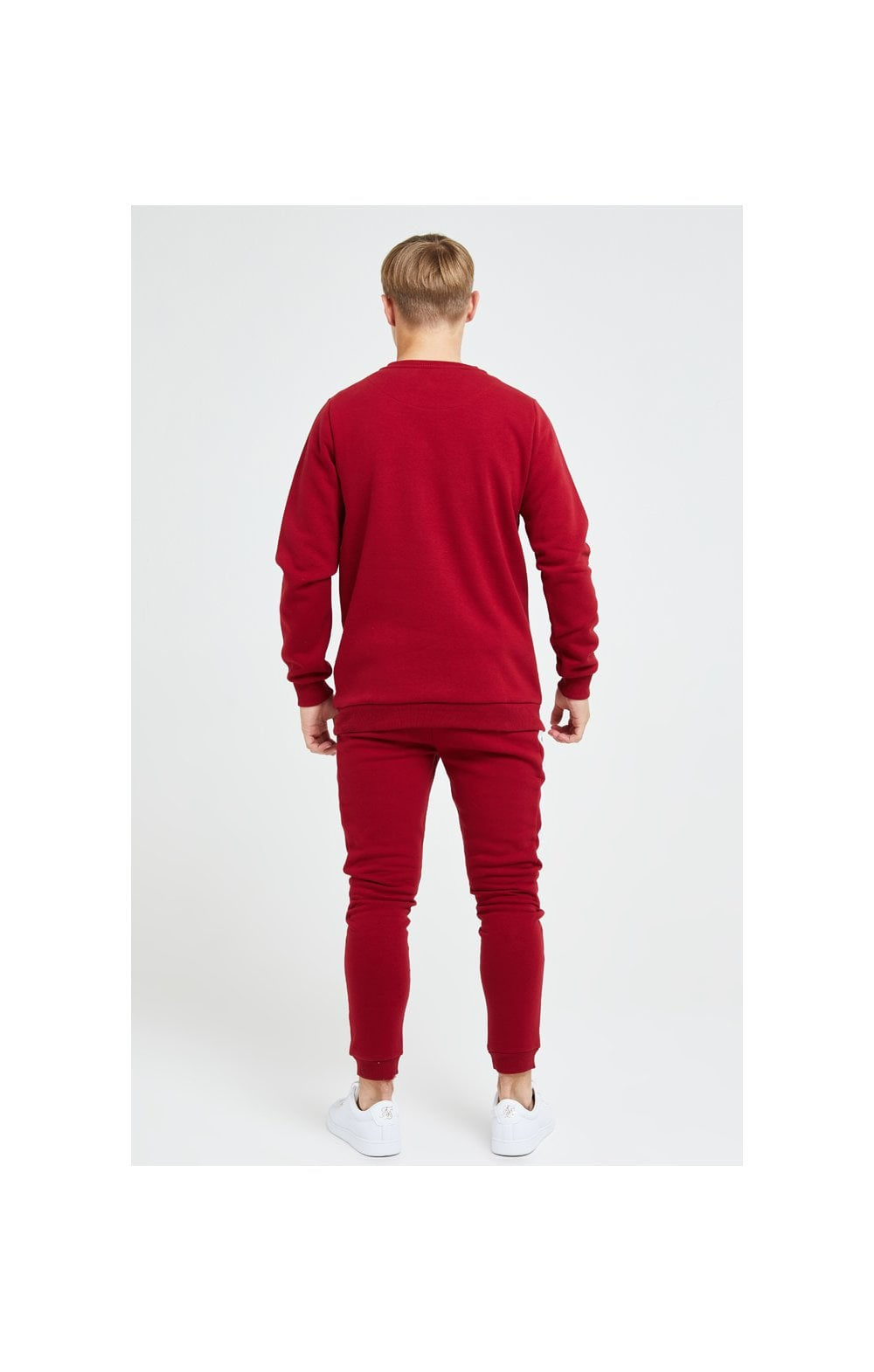 Illusive London Divergence Crew Sweater - Red & Pink (4)