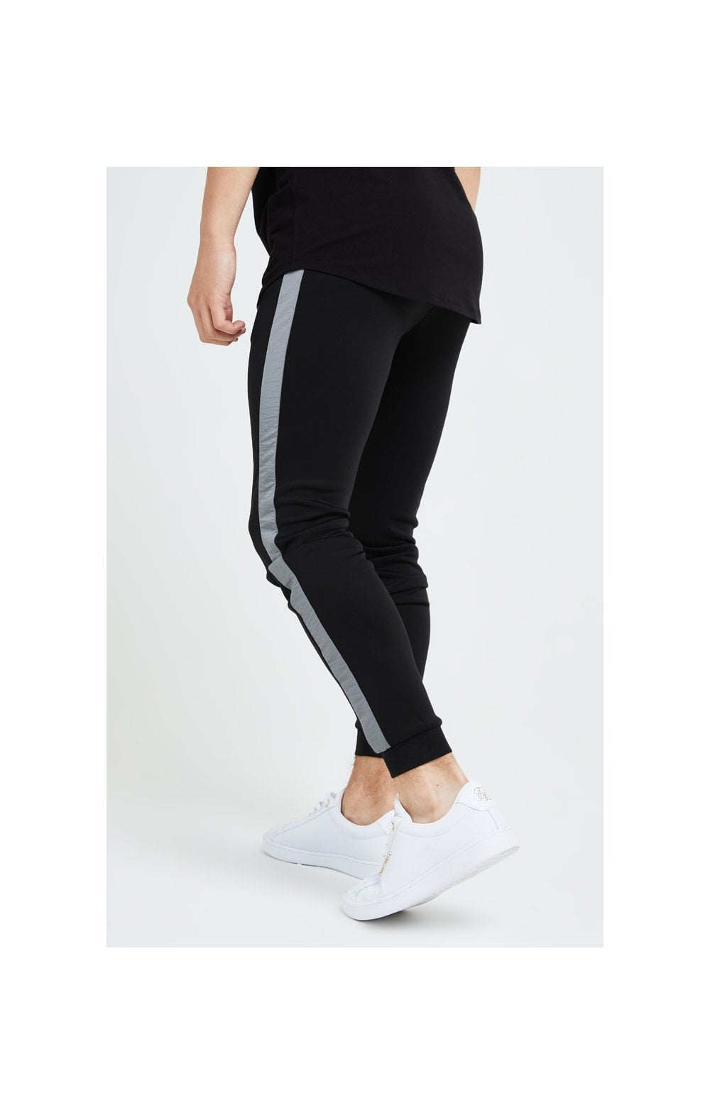 Illusive London Hybrid Joggers - Black & Grey (1)