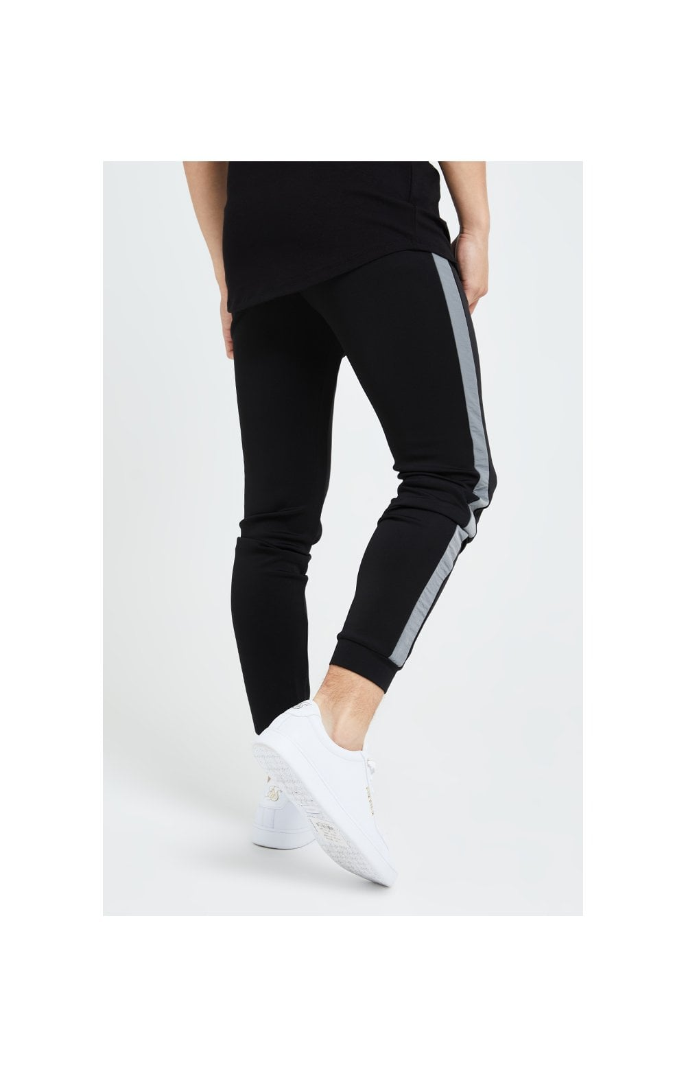 Illusive London Hybrid Joggers - Black & Grey (2)