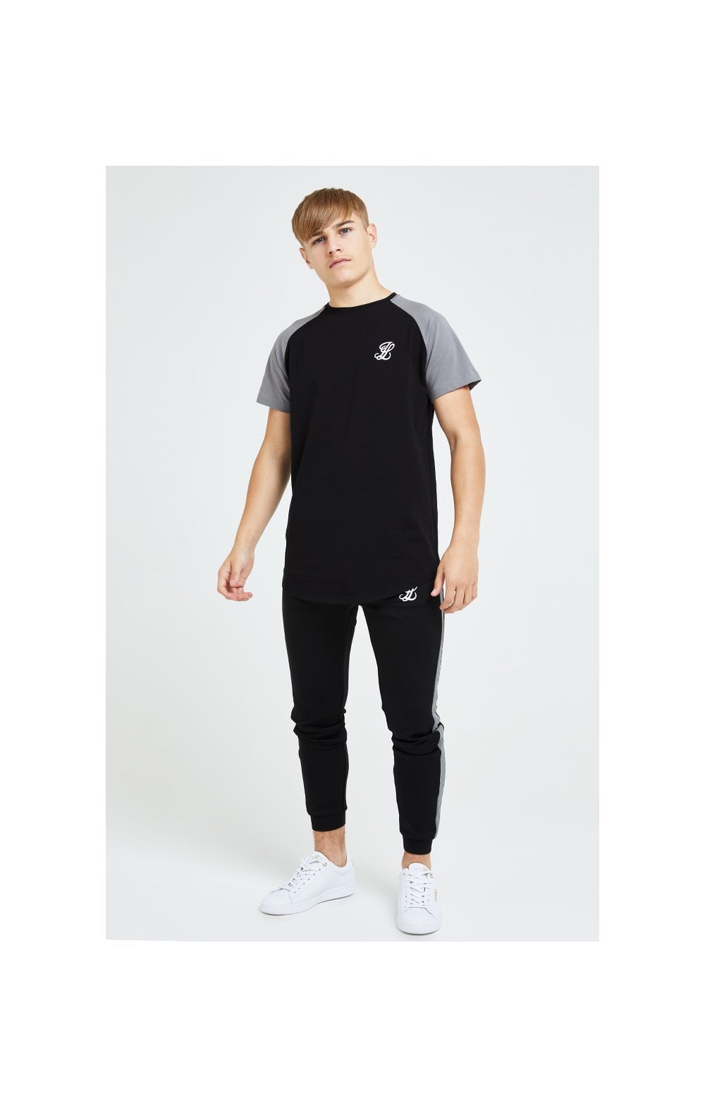 Illusive London Hybrid Joggers - Black & Grey (4)