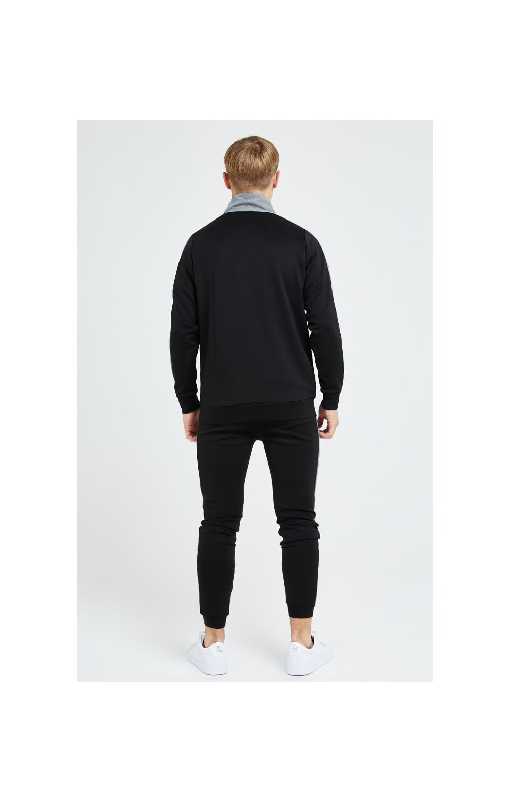 Illusive London Hybrid Joggers - Black & Grey (5)