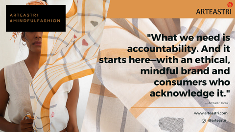 Quote on sustainable fashion