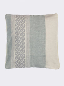 Handloom Sea Green Cotton Cushion Covers - Arteastri