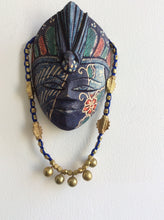 Load image into Gallery viewer, Stunning Handmade Blue Dokra necklace - Arteastri