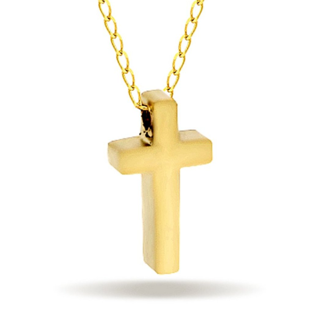 3647a09410dbf Gold Cross Necklace