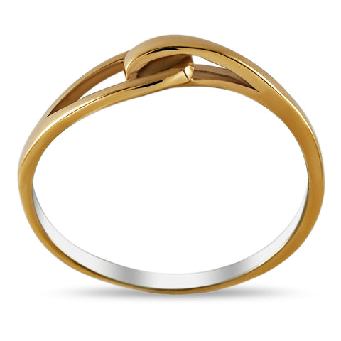 stacking ring, love knot ring