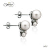 925 Sterling Silver Earrings, Earring Jackets Pearl Earrings, Ear Jacket Earrings