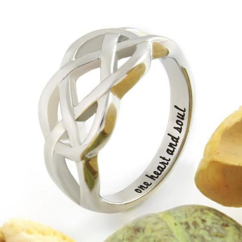Couples Ring, Infinity Ring, Promise Ring Infinity Symbol Ring