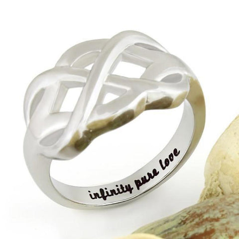 Couples Ring Infinity Ring, Promise Ring Infinity Symbol Ring