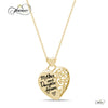 Mother & Daughter Forever Necklace, 925 Silver, 14K Gold Plated
