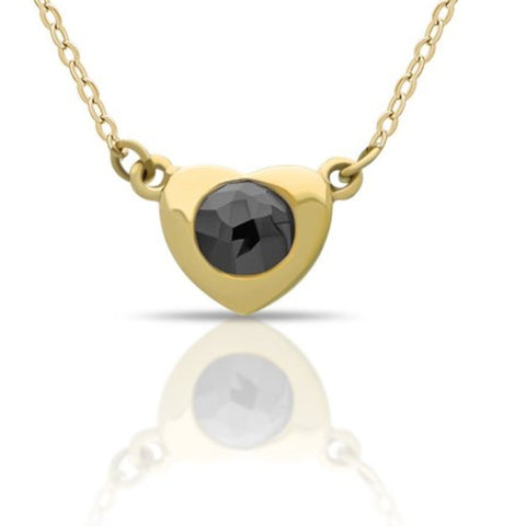 diamond necklace, black diamond necklace, diamond pendant necklace