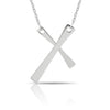 Silver Cross Necklace, tiny dainty delicate, dainty silver cross