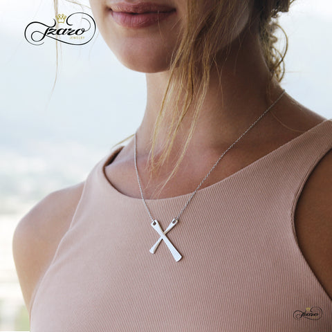 dainty cross, silver cross pendant, simple cross necklace