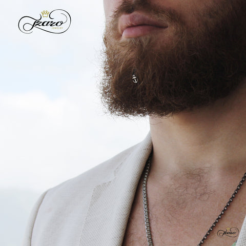 Mans Facial Hair Decoration Accessory Beard Hairpin